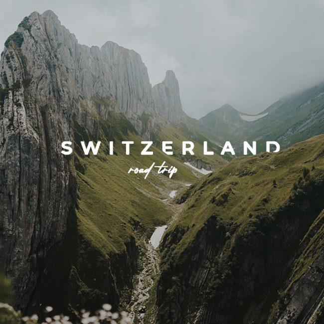 Suisse Travel Guide - RoadTrip en Suisse miniature
